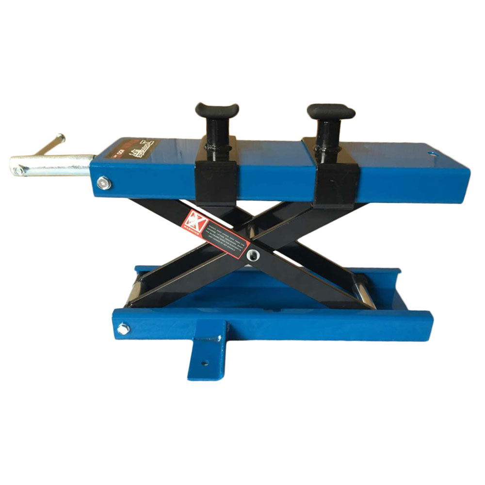 UBesGoo 1100 LB Motorcycle Center Scissor Lift Jack with Safety Pin Hoist Stand Bikes ATVs