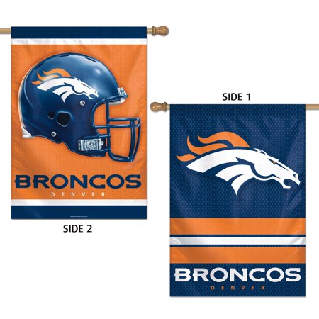 Denver Broncos Official NFL 28 inch x 40 inch  Banner Flag by Wincraft