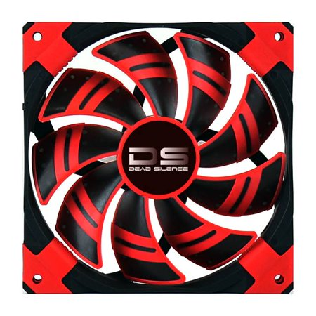 AeroCool Dead Silence 120mm Red Case Fan (Aerocool Dead Silence 120mm Red Case Fan)