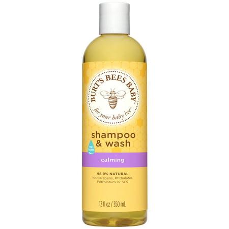 - Burt's Bees Baby Shampoo & Wash, Calming Tear Free Baby Soap - 12 oz Bottle