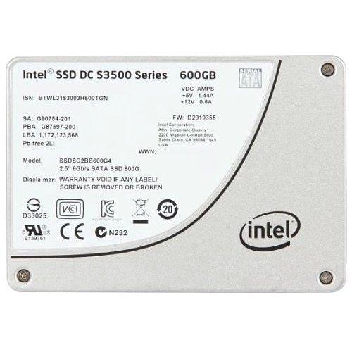 """Intel 600 GB 2.5"""" Internal Solid State Drive - OEM SSDSC2BB600G401"""