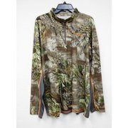Nomad Men's 1/4 Zip Hunting Tee - Realtree Max-1 - Size XXX Large