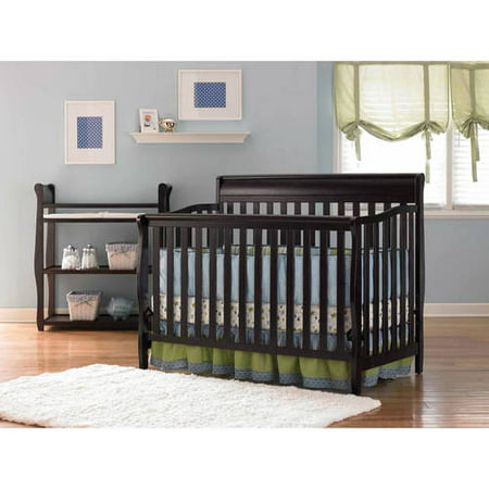 Graco Stanton 4 In 1 Convertible Crib Espresso
