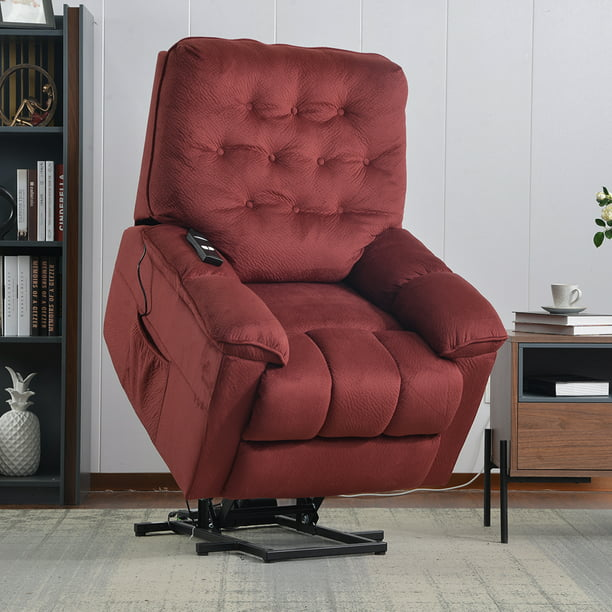 Electric Lift Chair 330 LB Heavy Duty, Infinite Position Oversize Lift Recliner Sofa Lifts You Up, Lift Chair Living Room Chair w Button Remote,