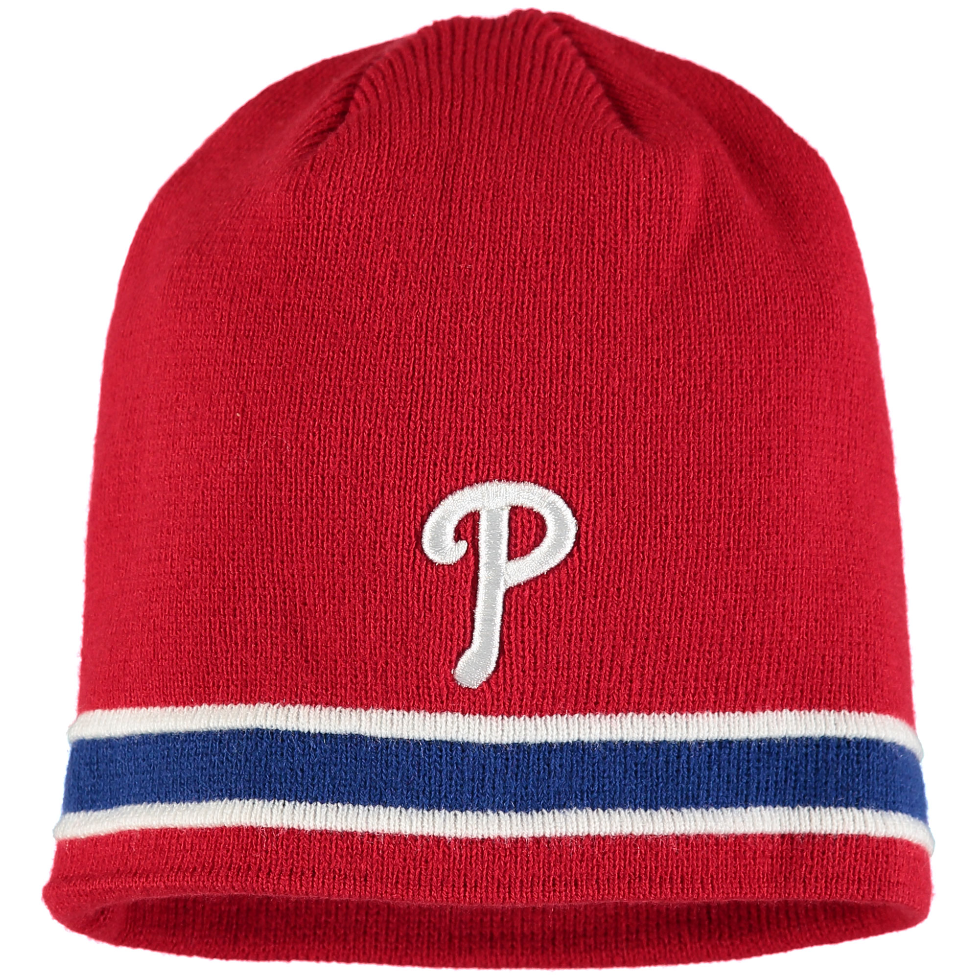 Philadelphia Phillies '47 Super Pipe Knit Beanie - Red - OSFA