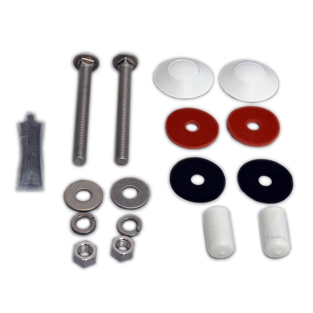 Inter-Fab Board to Base Stainless Steel Hardware Kit, Residential Diving Board