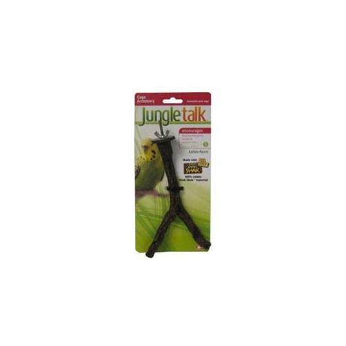 Jungle Talk Pet Products BJNP84006 Edible Perch Split Branch Small