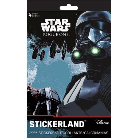 Stickerland Pad - Star Wars Rogue One - 4 pages Toys Gifts Stationery New st5285 - image 1 de 1