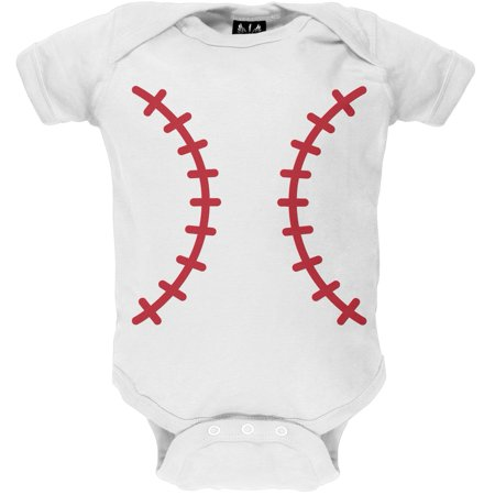 Halloween Baseball Costume Baby One Piece - Emory Baseball Halloween