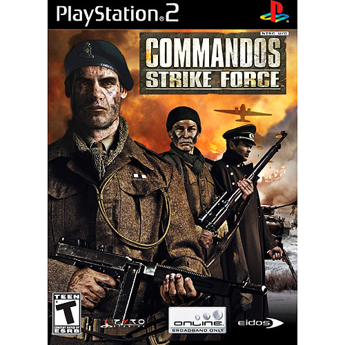 Commandos Strike Force PS2