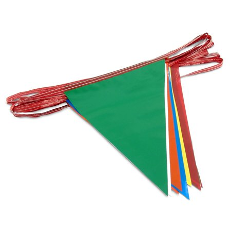 Multi-Color Pennant Flags](Plastic Pennant Flags)