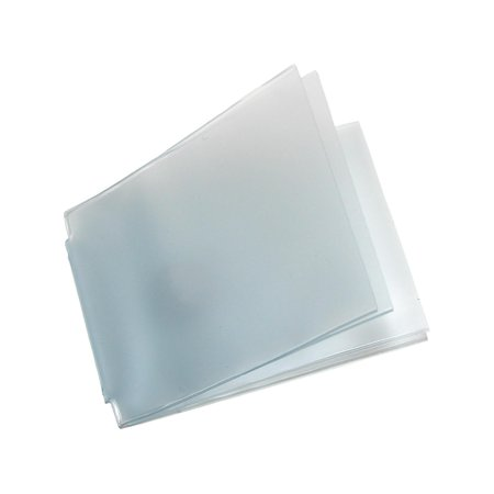 Size one size Vinyl Window Inserts for Billfold Wallets with Wing Bar (Pack of 2)