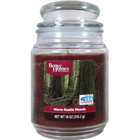 Better Homes And Gardens 18 Ounce Candle Warm Rustic