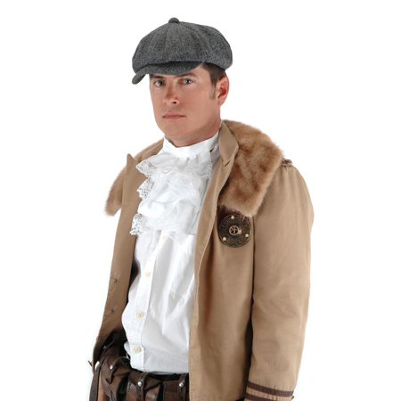 Steampunk Herringbone Driver Hat Costume Accessory
