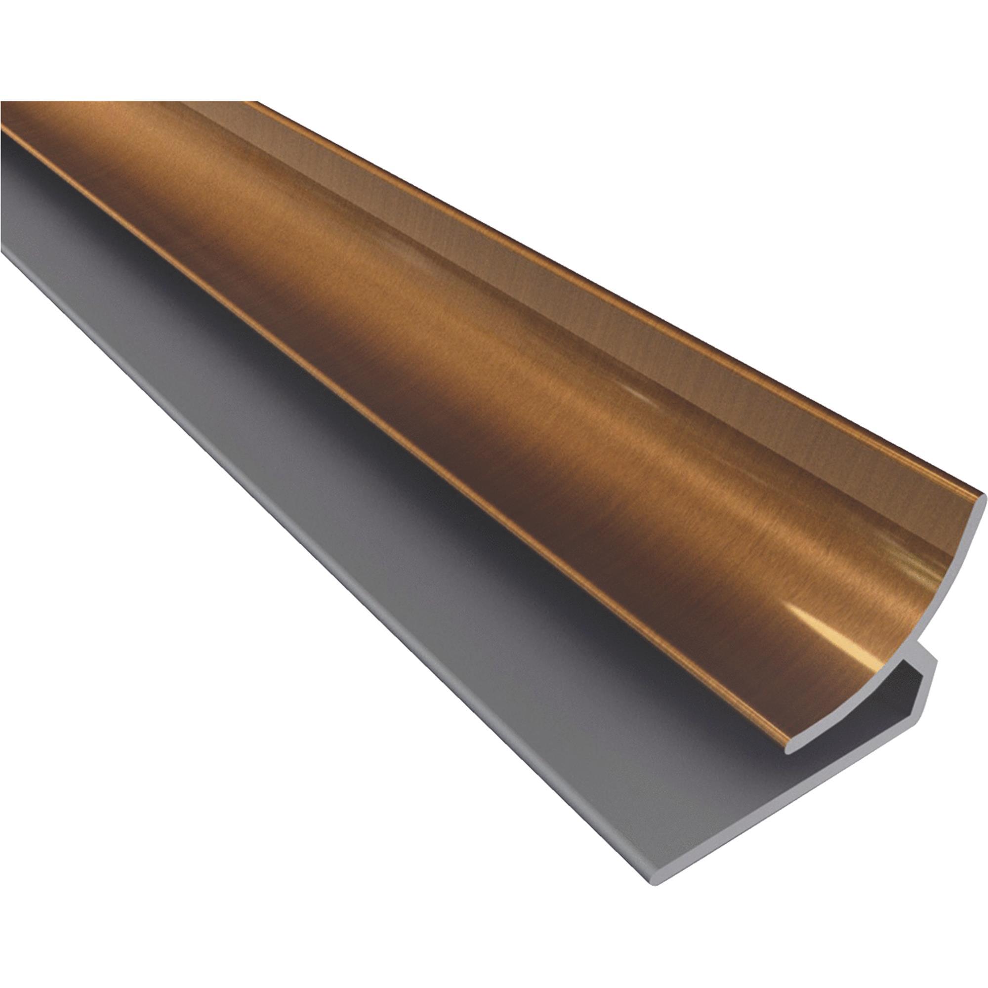 Image of ACP Oil-Rubbed Bronze Inside Backsplash Corner Trim
