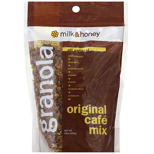 Milk & Honey Granola, Original, 16 oz. (Pack of 6)