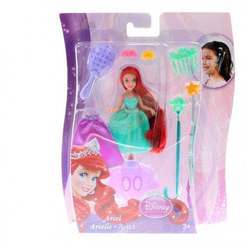 Disney Princess Small Doll Ariel Hair Play Doll by Mattel