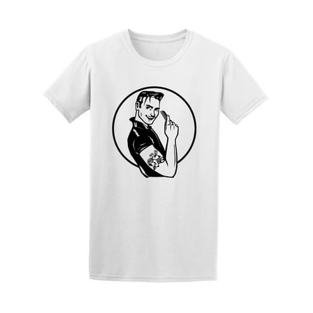 Retro Fifties Grease Guy Tee Men's -Image by Shutterstock for $<!---->