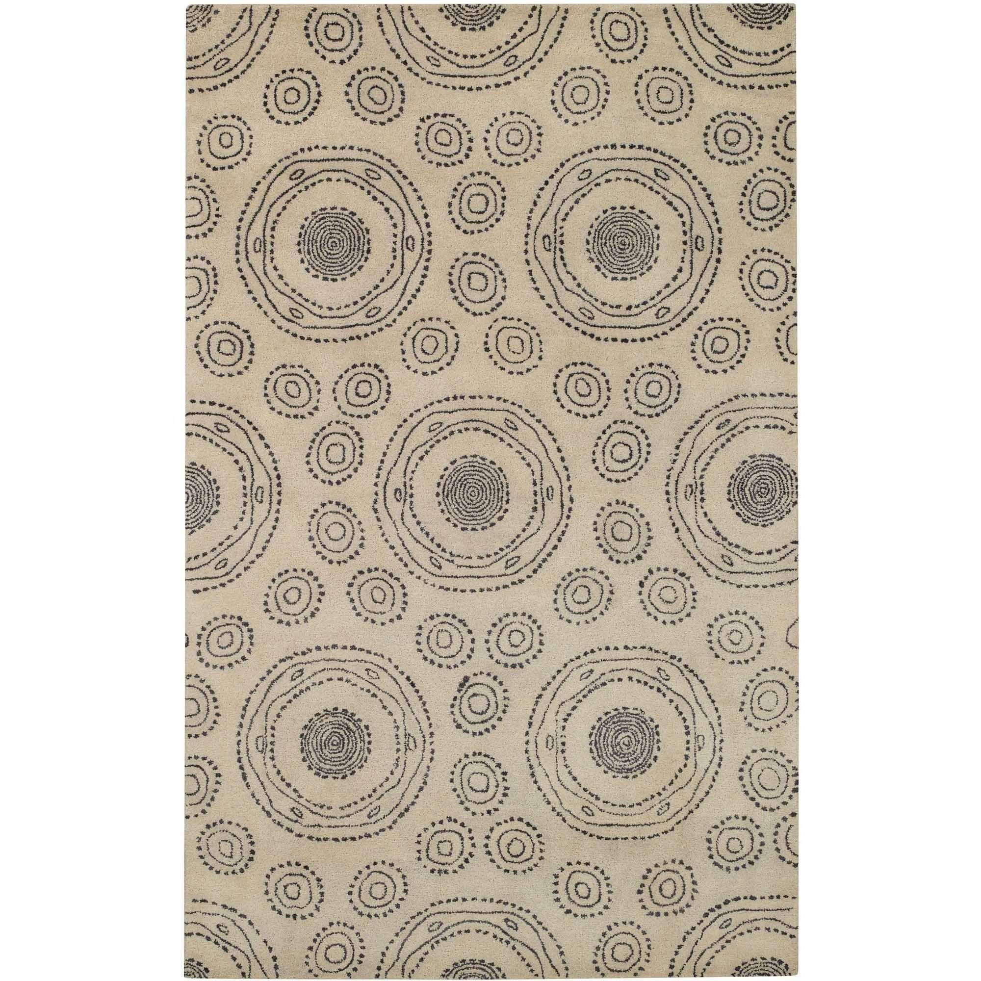 Spindles Hand-Tufted Area Rug