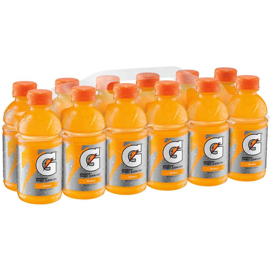 Gatorade G Orange Thirst Quencher Sports Drink, 12 fl oz, 12 pack