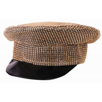 HAT - DISCO GOLD OFFICER - Disco Ball Hat