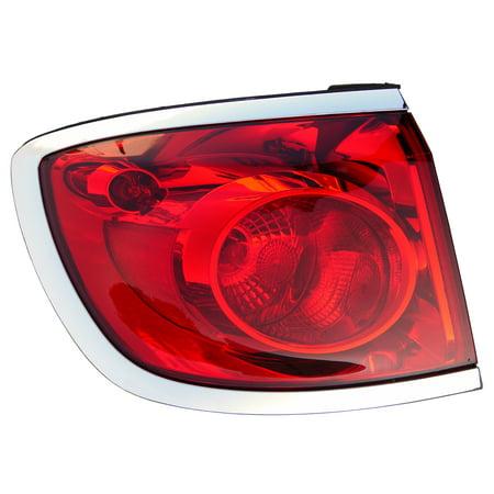 2008-2012 Buick Enclave Driver Left Side Rear Back Lamp Tail Light