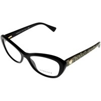 c97c094a8f7e Product Image Versace Prescription Eyeswear Frames Women Oval Black VE3216  5156
