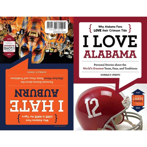 I Love Alabama/I Hate Auburn: Flip Book