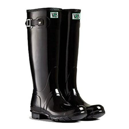 Moneysworth & Best Women's Tall Rubber Welly Boots, 8,