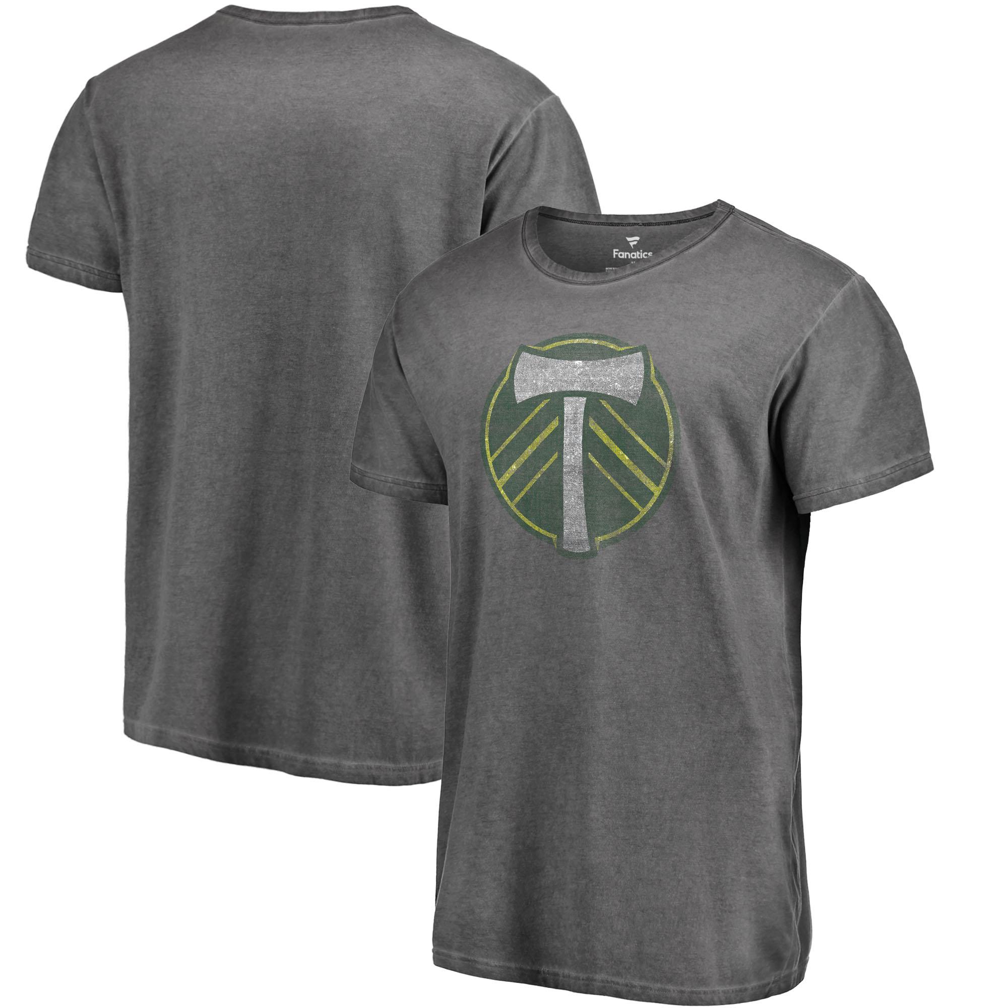 Portland Timbers Fanatics Branded Shadow Washed T-Shirt - Black