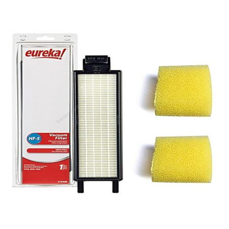- Eureka Style HF5 Hepa Lightspeed 5700-5800 Series Vacuum Cleaner Filter With 2Pk Pre Motor Filter.