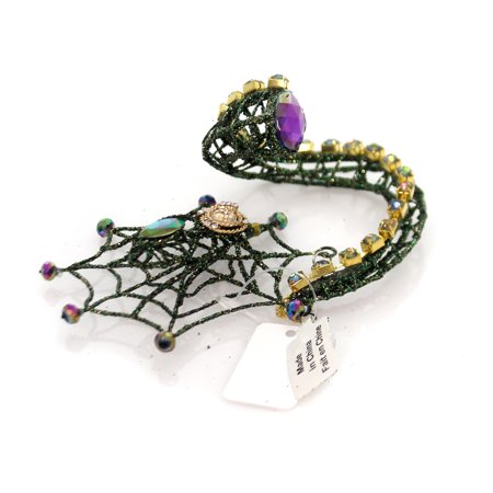 Halloween SPIDER WEB BOTTLE CHARM Metal Wine Beer Oils Champagne 08783541](Wine Bottle Halloween Crafts)