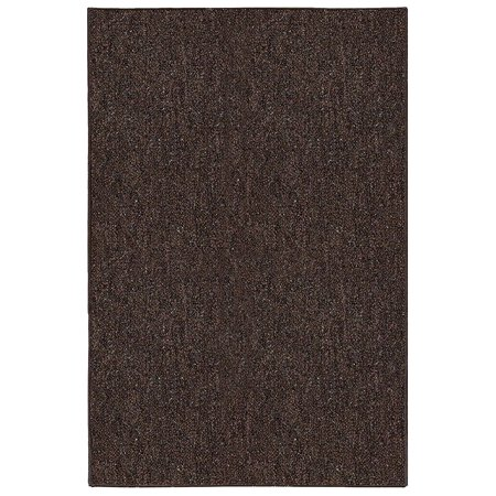 Broadway Collection Solid Color Indoor Outdoor Area Rugs Chocolate - 2