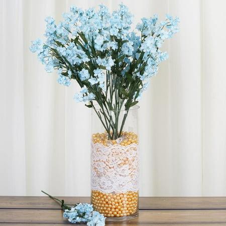 BalsaCircle 12 Bushes Baby Breath Silk Filler Flowers - DIY Home Wedding Party Artificial Bouquets Arrangements Centerpieces for $<!---->