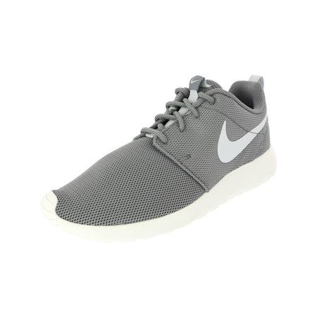 Nike Women's Roshe One Cool Grey/Pure Platinum Ankle-High Cotton Fashion Sneaker - 6M