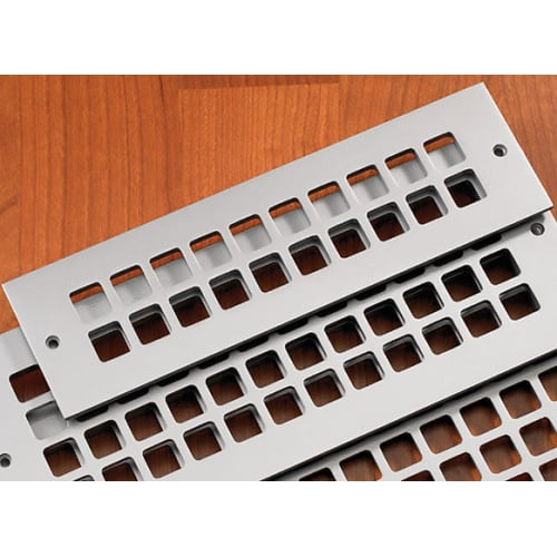 """Reggio Registers G412-AH Grid Series 10"""" x 2-1/4"""" Grille with Mounting Holes"""