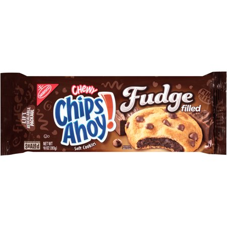 Nabisco Chips Ahoy  Chewy Fudge Filled Soft Cookies  10 Oz