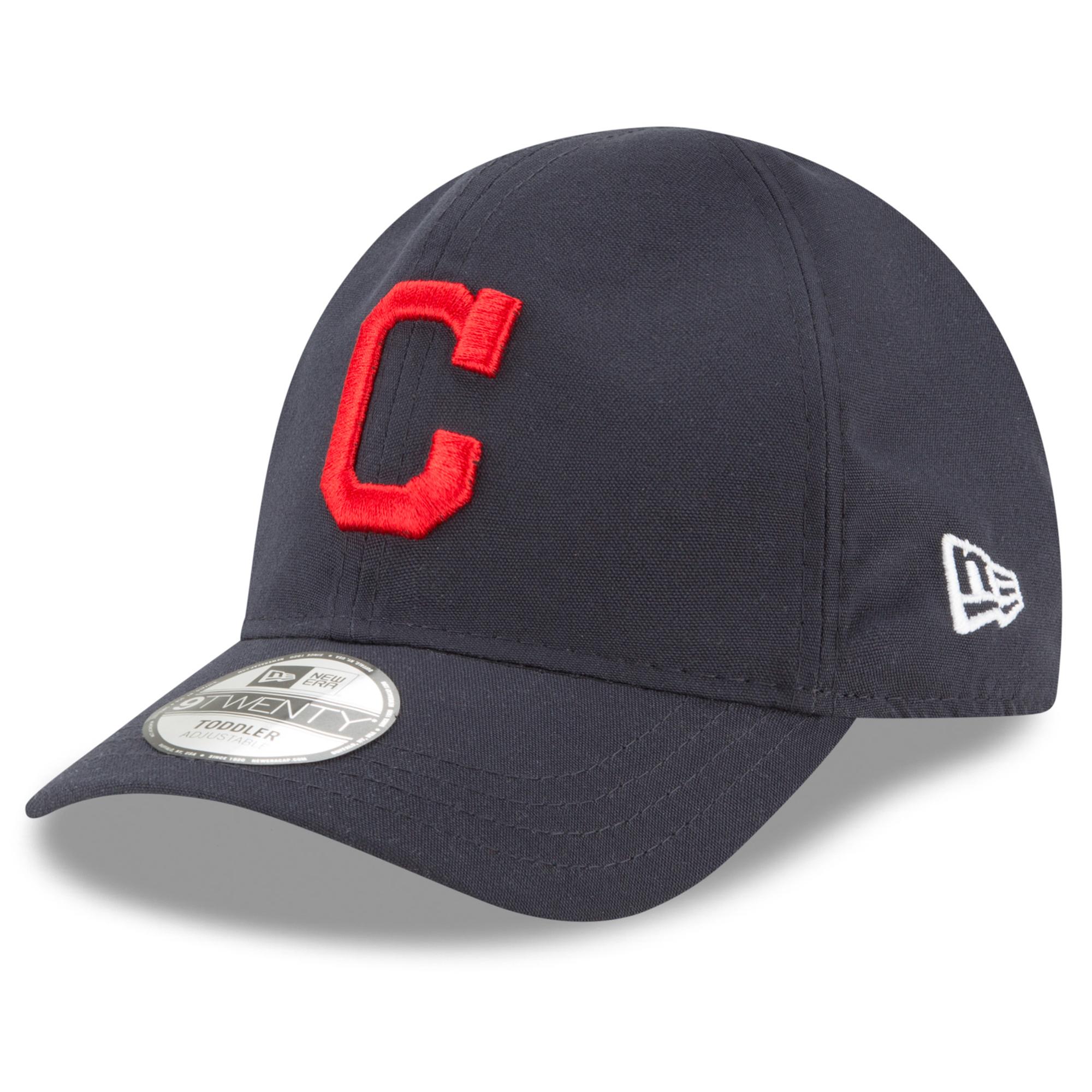 Cleveland Indians New Era Toddler My First 9TWENTY Flex Hat - Navy - OSFA