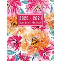 2 Year Monthly Planner 2020-2021: 2020-2021 Two Year Planner: 2020-2021 see it bigger planner - Monthly Schedule Organizer - Agenda Planner For The Next Two Years, 24 Months Calendar, Appointment Note