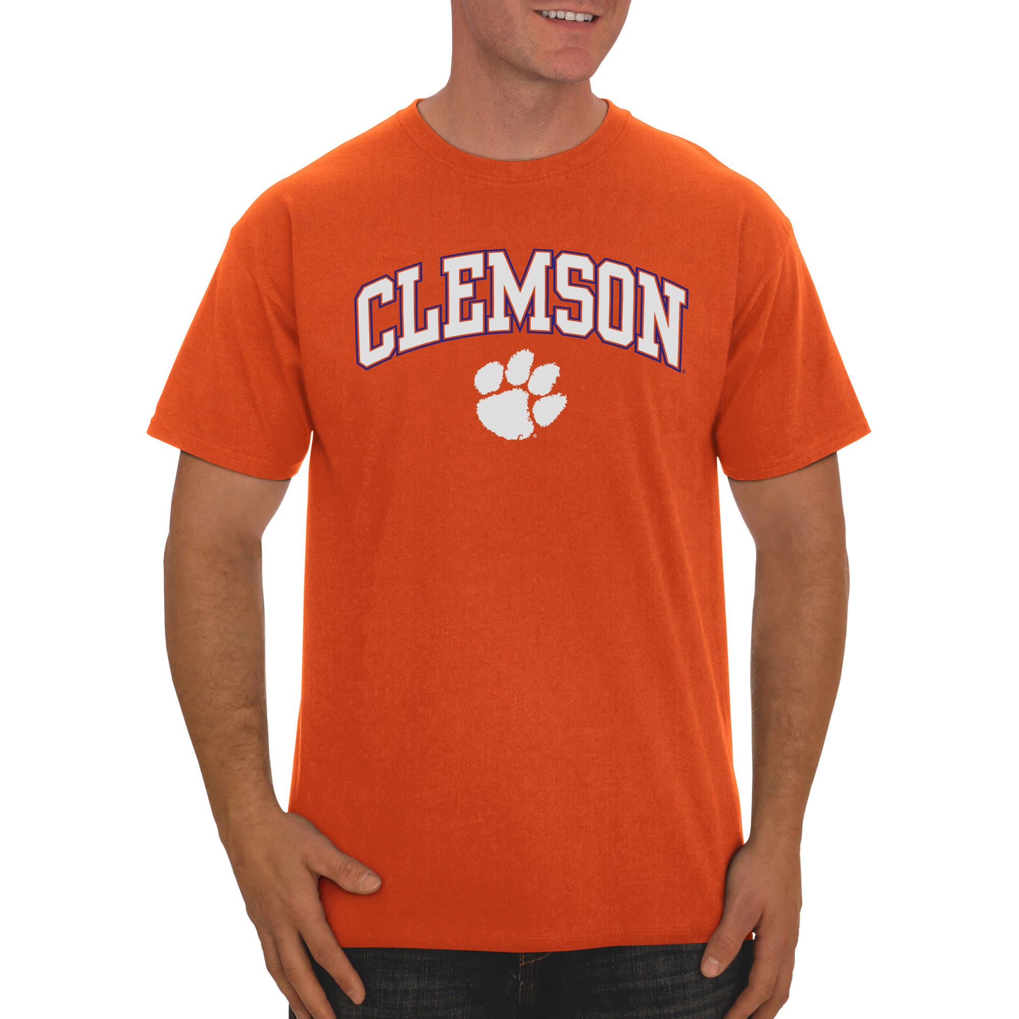 Russell NCAA Clemson Tigers Men s Classic Cotton T Shirt Walmart