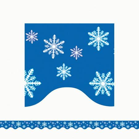 Snowflake Border - SNOWFLAKES BORDER TRIM