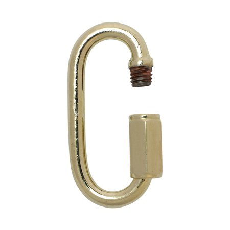 RCH Hardware QL-SS50 Stainless Steel Quick Link, 5 Gauge, Various Finishes (2 Pack) Stainless Steel Quick Link
