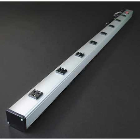 "48"" Outlet Strip, Wiremold, UL401BD"