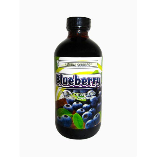 Natural Sources Blueberry Juice Concentrate 8 Oz Walmart Com