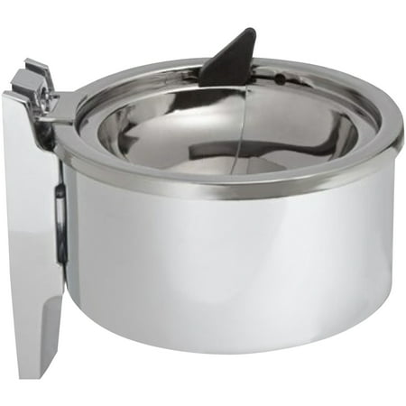 "Impact Products, IMP4004, 4"" Deluxe Metal Wall Ashtray, 1, Chrome"