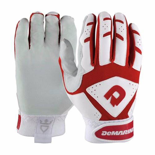 DeMarini Adult Uprising Batting Gloves, Red, Small