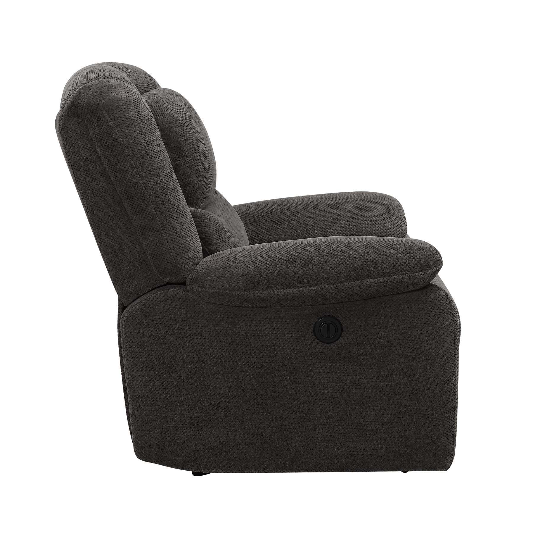 serta power recliner brown walmartcom cbe heated cooled chair