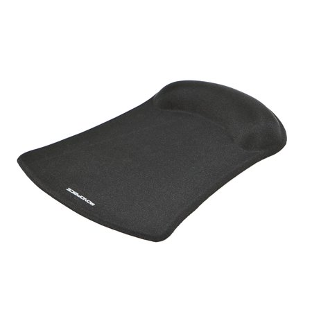 Monoprice Mouse Pad with Gel Wrist Rest - Black