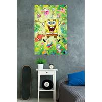 "Trends International SpongeBob Burst Wall Poster 22.375"" x 34"""