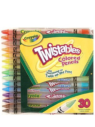 Pack of 2 Crayola Twistables Colored Pencils Pack of 30